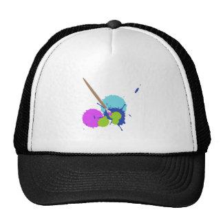 Art Splatter Trucker Hat