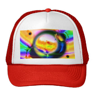 ART SPLATTER HATS