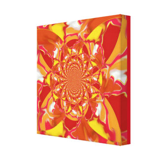 "Art ""Squazzle"" in Kaleidoscope Pattern - Design 3 Canvas Print"