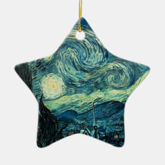 ART - Starry Night - SRF Ceramic Star Decoration