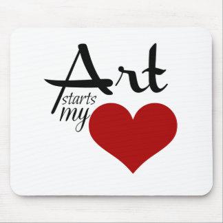 Art Starts my ♥ Mousepad