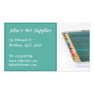 Art / Stationery Supply - Business Card