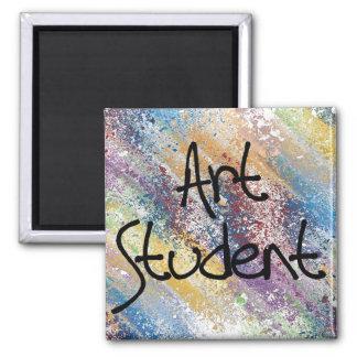 Art Student Square Magnet
