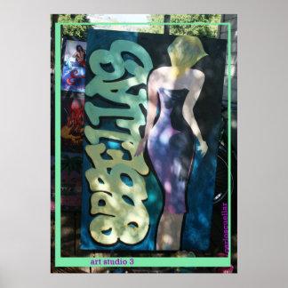 art studio 3 poster