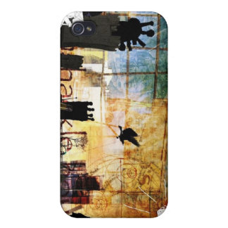 Art style iPhone 4 cases