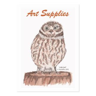 Art Supplies Business Card