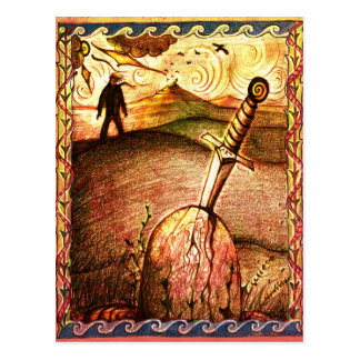 Art Sword postcard