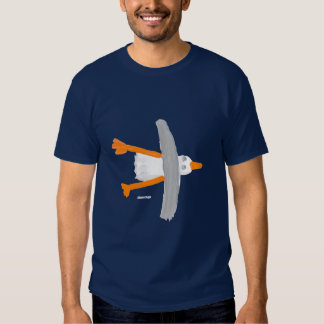 Art T-Shirt: Classic Seagull Tee Shirts