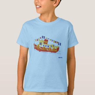 Art T-Shirt: Cornish Ferry TShirt