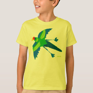 Art T-Shirt: Crazy Parrot TShirt
