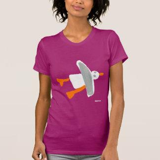 Art T-Shirt: John Dyer Cornish Seagull T-Shirt