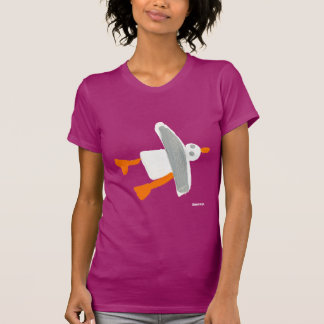 Art T-Shirt: John Dyer Cornish Seagull