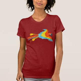 Art T-Shirt: Tropical Parrot T-Shirt