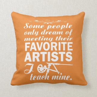 Art Teacher Cushion