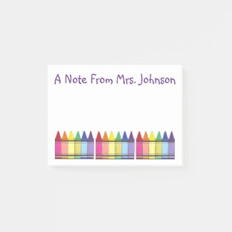 Art Teacher Post It Notes