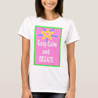 Art Teacher Shirt - Keep Calm and Create