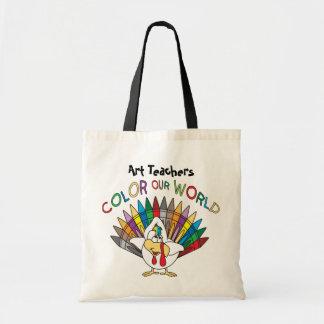 Art Teachers Color Our World Bag