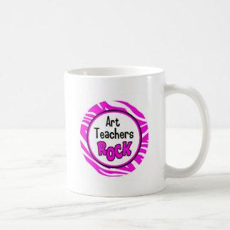 art teachers rock basic white mug