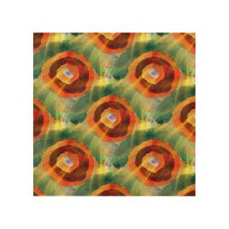 art texture abstract water green, orange, circle