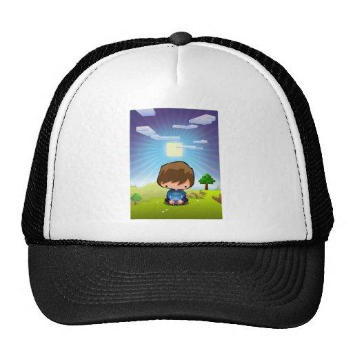 Art The Gamer Trucker Hats