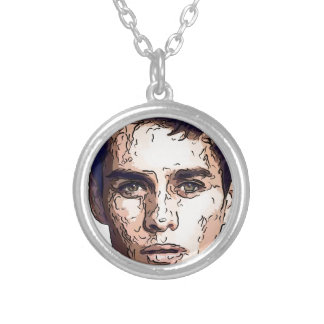 art - the male model custom necklace
