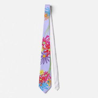 Art Tie: Flower Bunch Tie