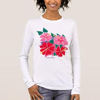Art Top: Flowery Hibiscus Long sleeve top
