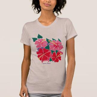 Art Top: Flowery Hibiscus top