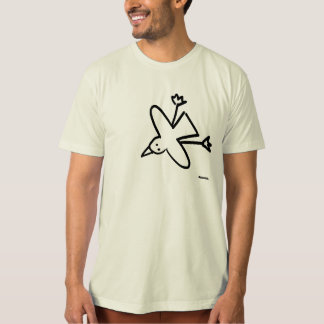 Art Top: John Dyer Seagull Drawing T-Shirt