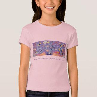Art Tshirt: Musée Océanographique de Monaco. Pink T-Shirt
