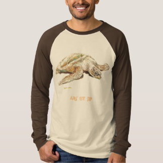 Art-Turtle Mens Long Sleeve Shirt