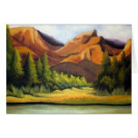 Art Valley Of Pines Greeting Cards