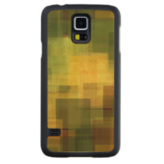 art vintage colorful abstract geometric 2 carved maple galaxy s5 case