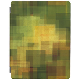 art vintage colorful abstract geometric 2 iPad cover