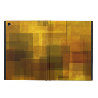 art vintage colorful abstract geometric iPad air case