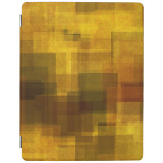 art vintage colorful abstract geometric iPad cover