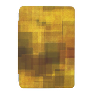 art vintage colorful abstract geometric iPad mini cover