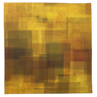 art vintage colorful abstract geometric napkin