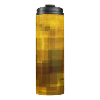 art vintage colorful abstract geometric thermal tumbler