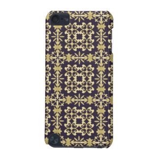Art vintage damask pattern, golden iPod touch (5th generation) cases