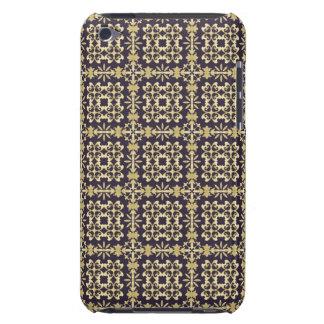 Art vintage damask pattern, golden iPod touch Case-Mate case