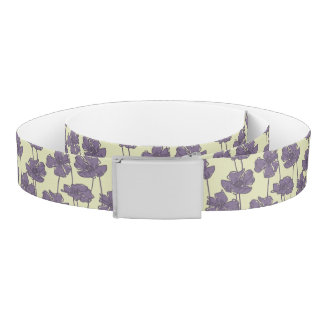 Art vintage floral pattern background belt