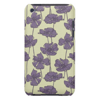 Art vintage floral pattern background Case-Mate iPod touch case