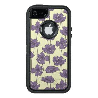Art vintage floral pattern background OtterBox defender iPhone case