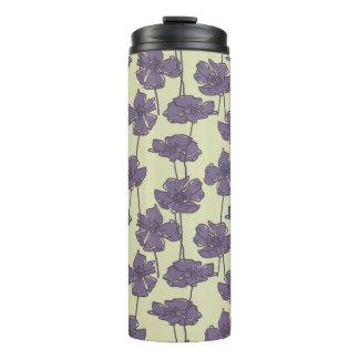 Art vintage floral pattern background thermal tumbler