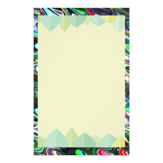 Art Waves for Happy State of Mind Stationery