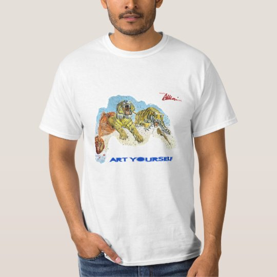 Art Yourself - Tigers in dreams T-Shirt