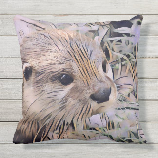 ArtAnimal Otter Cushion