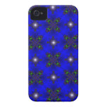 artdeco in retro look stars green and blue iPhone 4 covers