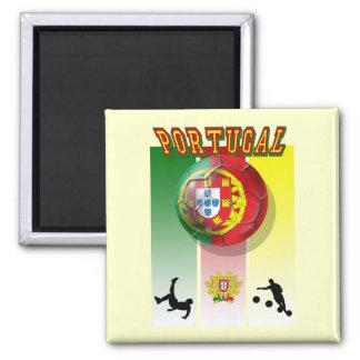 Arte e Futebol encontra - Futebol Portuês Refrigerator Magnet